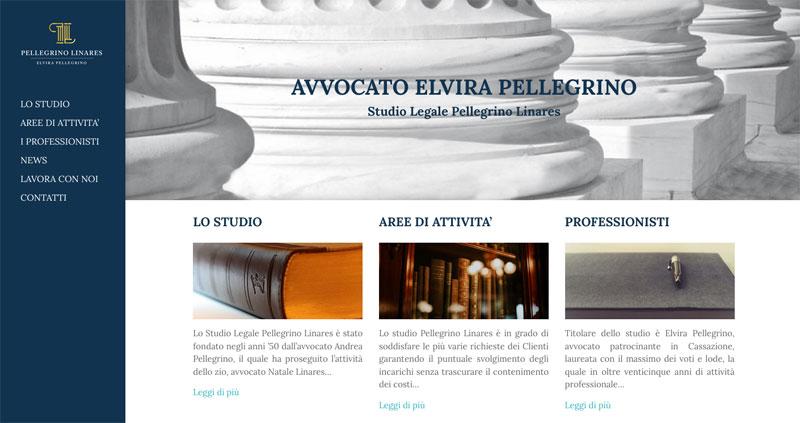 Online il nuovo sito dello Studio Legale Pellegrino Linares